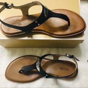 Michael kors plate though sandals